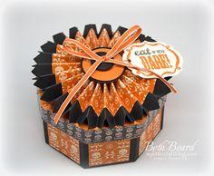 My little craft blog: Octagon Shaped Box