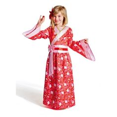 Déguisement Kimono Japonaise 8-10 ans Imagibul création Oxybul pour enfant de 8 ans à 10 ans - Oxybul éveil et jeux