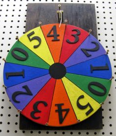 How i made a prize wheel spinning wheel game, jeux casino, prize wheel Carnival Prizes, Diy Carnival, School Carnival, Carnival Games, Spinning Wheel Game, Spinning Wheels, Fall Festival Games, Spring Festival, Prize Wheel