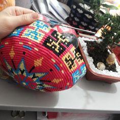 Canto do Pano Artesanato: Bolsa no estilo Wayuu
