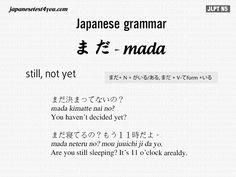 Learn Japanese Grammar Flashcard Free Online