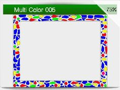 Page 1 - Multi-Color PSP Frame Downloads