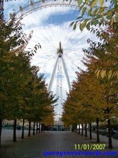 El London Eye #londres http://www.pacoyverotravels.com/2013/10/london-eye.html