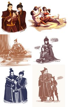 avatar the last airbender I wish we got to see Zuko interact with his daughter in TLOK : TheLastAirbender Avatar Aang, Avatar Legend Of Aang, Avatar The Last Airbender Funny, The Last Avatar, Team Avatar, Avatar Airbender, Legend Of Korra, Avatar Cartoon, Cartoons