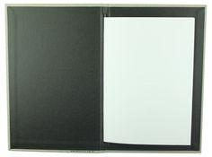 Carbon Rod | A5 - Linen Claro - Black Buckram