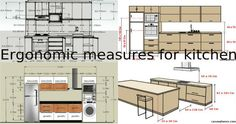 The Kitchen Remodeling Tips about Measurements and Placing the Elements - Architecture Admirers