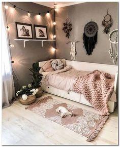 Room Design Bedroom, Small Room Bedroom, Bedroom Colors, Home Bedroom, Bedroom Wall, Bedroom Ideas, Small Room Decor, Bedroom Designs, Small Rooms