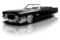 Black 1970 Cadillac DeVille