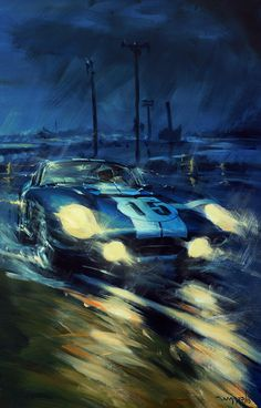 Mobile Art, Landscape Artwork, Car Posters, Vintage Race Car, Car Drawings, Car Sketch, Automotive Art, Porsche 356, Car Painting