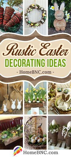 Rustic Easter Decoration Ideas