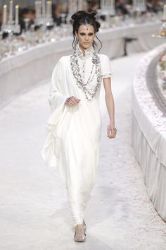 Karl Lagerfeld 'Paris-Bombay' collection for Chanel. December 2011