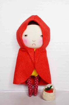 The red riding hood by EEchingHandmade on Etsy