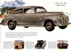 1941 Chevrolet Master De Luxe Town Sedan
