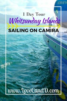 Check out this review of the 1 Day Whitsunday Islands sailing tour, on board the catamaran Camira.