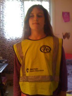 Me in my patrol vest <3