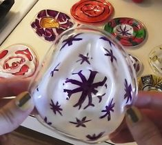 Melted solo Christmas ornaments. With how to instructions!!!