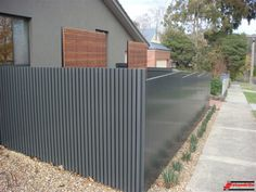 Linea aluminium fence modern fences nowoczesne ogrodzenia pinterest - Your guide to metal fence panels for privacy and safety ...