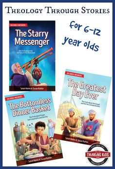 Big Bible Answers: Theology Through Stories for 6-12 year olds