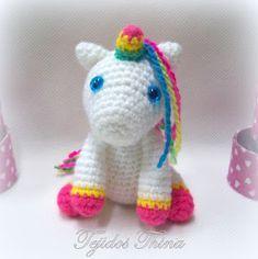 unicornio amigurumi