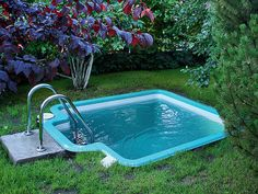 Best Swimming Pool Ideas for Small Backyard - Alles über den Garten Small Swimming Pools, Best Swimming, Small Backyard Landscaping, Small Pools, Swimming Pools Backyard, Swimming Pool Designs, Backyard Ideas, Porch Ideas, Small Pool Backyard