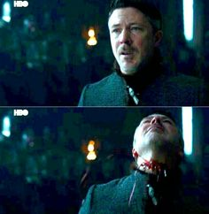 """Petyr Baelish at his execution. (7x7 """"The Dragon & the Wolf"""")"""