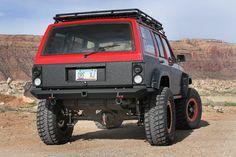 jeep cherokee xj rear bumper