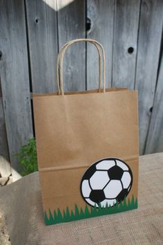 Items similar to Set of 8 Sports Party Favor Bags, Basketball Favor Bags, Baseball Favor Bags, Soccer Favor Bags, Football Favor Bags on Etsy - Obst Sports Party Favors, Soccer Birthday Parties, Football Birthday, Party Favor Bags, Favor Boxes, Gift Bags, Football Favors, Pochette Surprise, Soccer Gifts