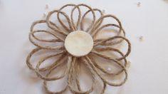 Make a Cute Twine Flower - DIY Crafts - Guidecentral