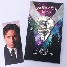 Real Skeptic and True Believer - Lapel Pins enamel pin flair two ghouls press