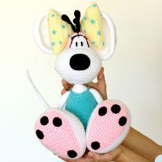 PATTERN: Diddlina amigurumi crochet pattern by BuddyRumi on Etsy https://www.etsy.com/listing/464846294/pattern-diddlina-amigurumi-crochet