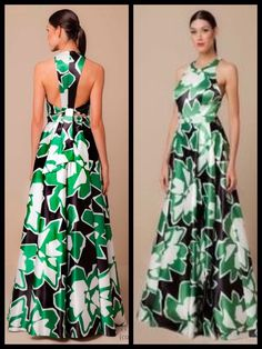 Bella espalda Long Summer Dresses, Trendy Dresses, Elegant Dresses, Beautiful Dresses, Evening Dresses, Casual Dresses, African Fashion Dresses, African Dress, Dress Outfits