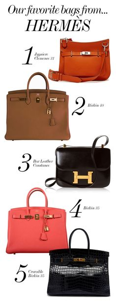 HERMÈS // Our Favorite Bags