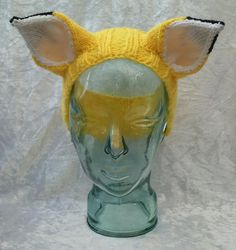 Yellow Fox Headband