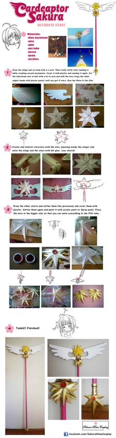Hello! ^^ Here's my new tutorial from Card Captor Sakura, last staff! I was working on him since 5 months ago, and I finished it already! ^^ I hope you like, and if you have any questions, co...