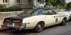 Tennessee Highway Patrol State Trooper 1979 Plymouth Fury