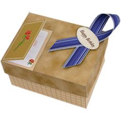 Gift box D (Brown) - Gift Boxes - Gift Items - Gift & CardCanon CREATIVE PARK