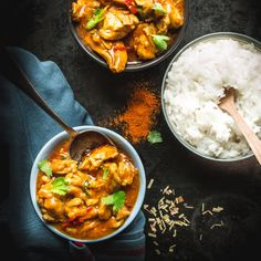 Thajské kuřecí curry | Koření od Antonína Curry, Food And Drink, Japanese, Ethnic Recipes, Cook, Asia, Curries, Japanese Language