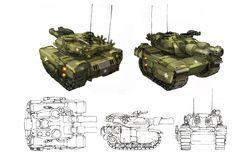 Battalion Wars Heavy Tank