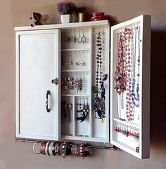 Large cabinet Organization - Fall OFFER OFF on shipping costsJewelry cabinet Large earrings case jewelry storage wall mounted earring organizer earrings storage
