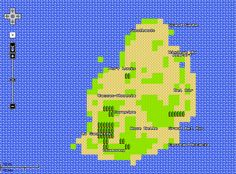 Mauritius in 8-bit!! - Google maps on April Fool's day