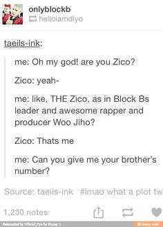 Plot twist! | Block B Zico & Taewoon