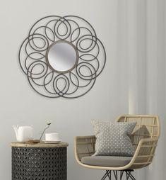 #homedecor #interiordesign #decoration #inspiration #decor #livingroom #decorativemirror Home Decor Inspiration, House Design, Living Room, Interior Design, Mirror, Spring, Flowers, Nest Design, Home Interior Design