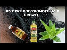 BEST Pre-Poo Routine For Natural Hair | All Textures - Scalp to Ends - YouTube