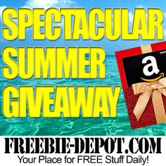 Enter to win a $50 Amazon Gift Card. The giveaway ends July 20, 2016 and is open to any US residents who are 18 and older.