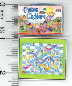 Well Known Children's Board Game by Cindi's Mini's - Dollhouses and Free Barbie, Barbie And Ken, Diy Dollhouse, Dollhouse Miniatures, Dollhouse Furniture, Paper Doll House, Paper Dolls, Childrens Board Games, Mini Things