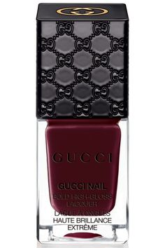 I love the #oxblood colour & i'm all about @gucci Exclusive: First Look at the Full Gucci Nail Polish Line