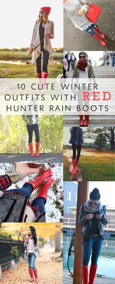 Cute rain boot outfits: Corina Nielsen- Live Fit