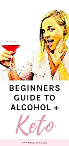 "It's the burning question nearly every keto beginner wants to know...""Can I drink alcohol and remain in ketosis?"" I've got you covered with a post on the basic rules for drinking on the ketogenic diet. #ketoforweightloss #ketoforbeginners #ketoforwomen Keto Beginner, Keto For Beginners, Keto Cocktails, Craft Cocktails, Keto For Women, Lemon Drop Martini, Low Carb Drinks, Burning Questions, Lose Weight"