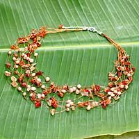 NOVICA: Warm Shower necklace. Have it. Love it. XO