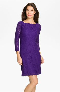 Idea for Mom #1.  Adrianna Papell Lace Overlay Sheath Dress available at #Nordstrom.